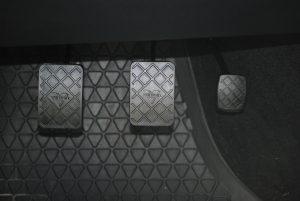 Pédales de frein d'une voiture